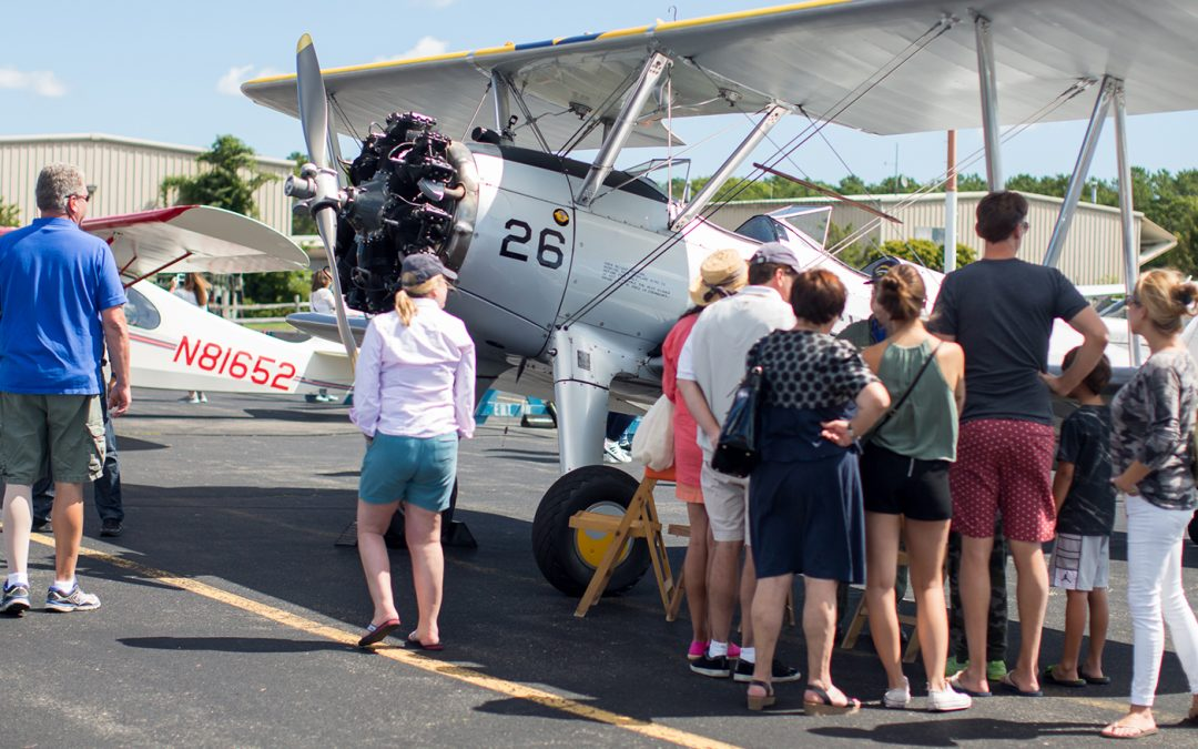Family Day at the East Hampton Airport (KHTO)