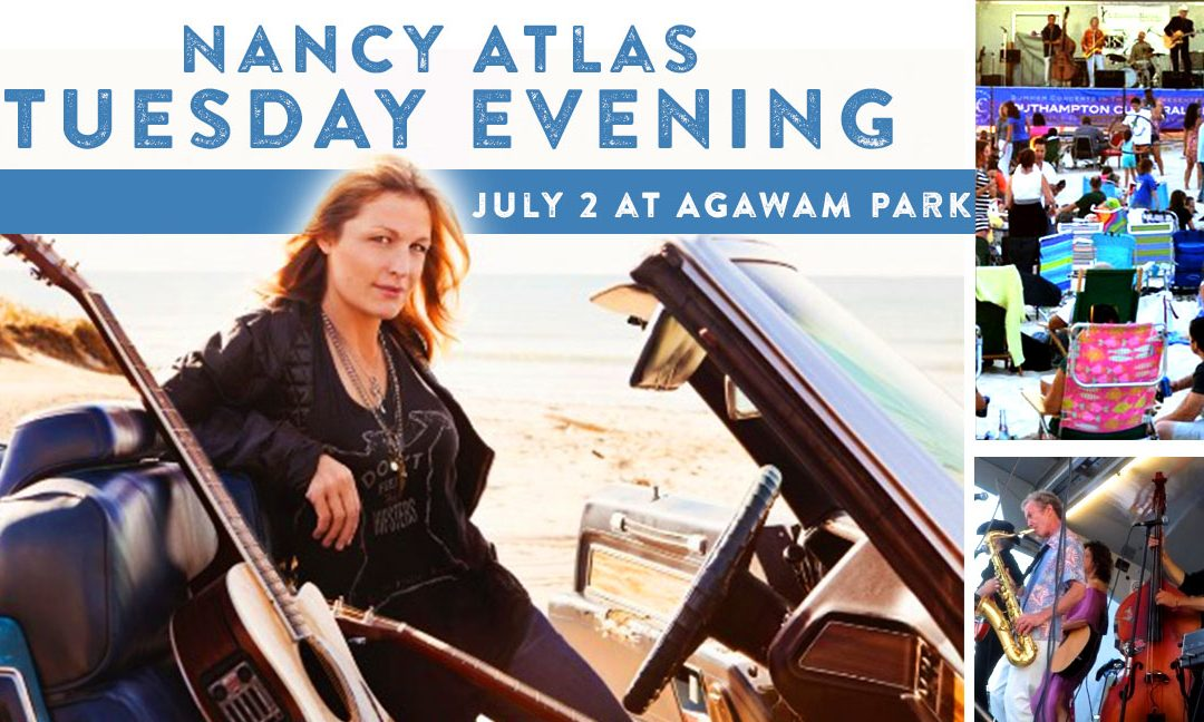 Nancy Atlas – Concerts in the Park this Tuesday starting at 6:30PM