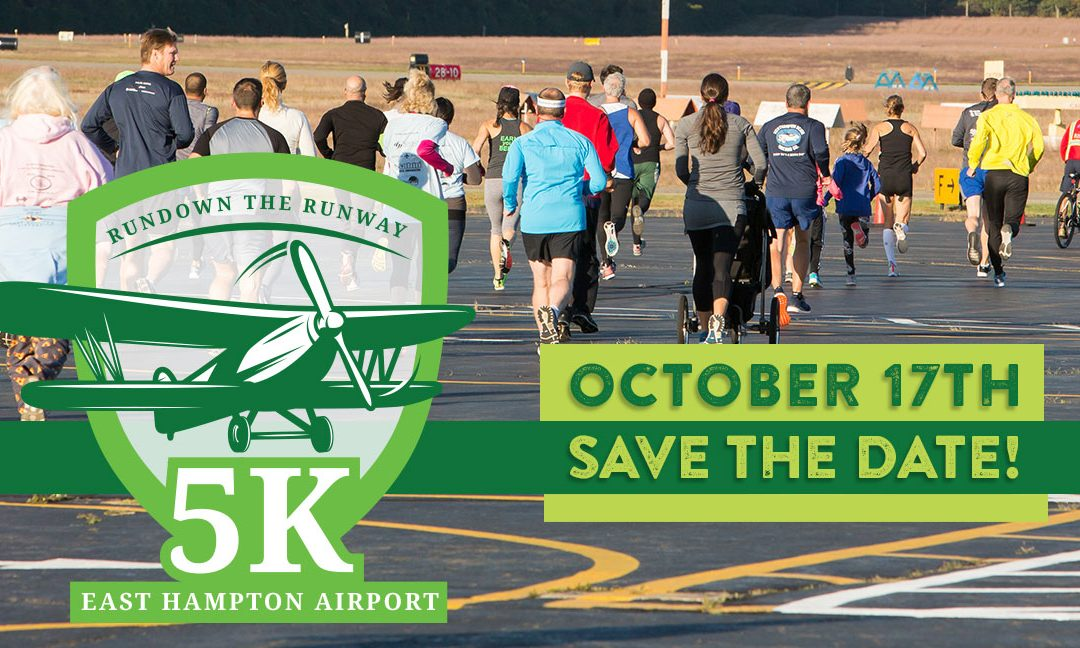 East Hampton Airport – Run Down the Runway 5K 2020