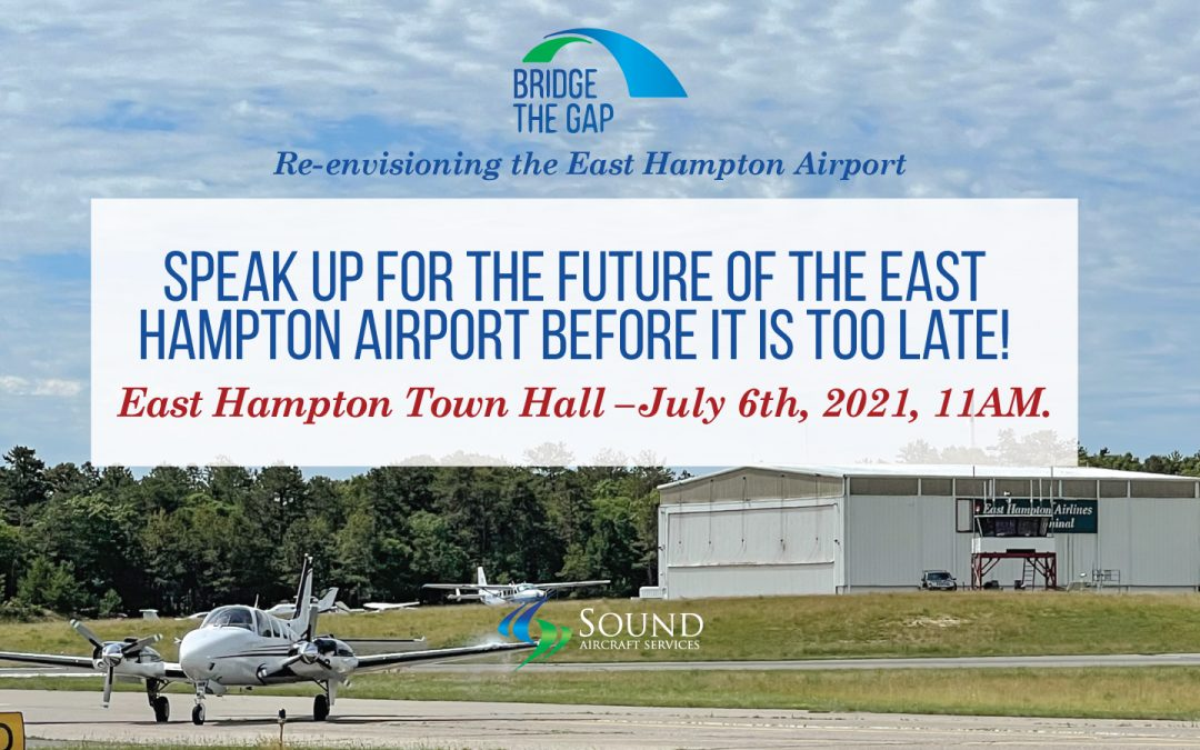 Public Hearing This Tuesday for the East Hampton Airport.